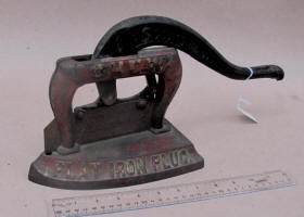 Flat Iron Tobacco Cutter