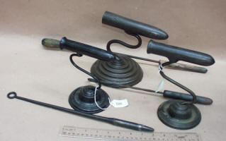 Steel Goffering Irons