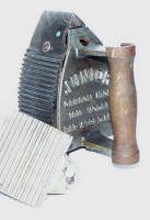 Junior Patented Combination Fluter / Charcoal Iron