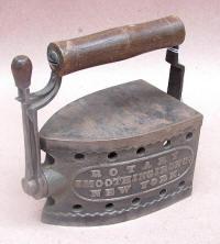 Revolving Rotary Gas Iron