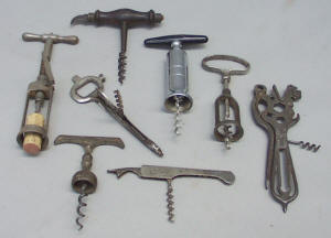 antique corkscrews