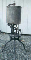 Antique Cast Iron Base Gear Driven Butter Churn