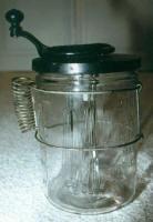 Jewel Egg Beater / Glass Mixer