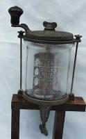 Landers  Frary Clark Universal #15 Glass Churn / Whipper