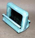 Porcelier Blue Iridescent Porcelain Electric Toaster