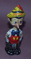 Pinocchio Wind -up Tin Toy