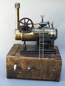 German Toy Steam Engine