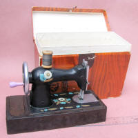 Russian Toy Sewing Machine w/ Original Box