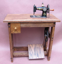 Ruth Toy Treadle Sewing Machine / TSM