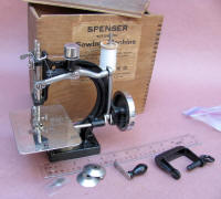 Turn of the Century Spenser Patented Sewing Machine