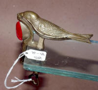 "A. Gerould & Co. Patented ""Full Body Robin"" Sewing Bird w/ Pincushion"