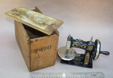 Stitchwell Little Lady TSM Toy Sewing Machine in Original Box