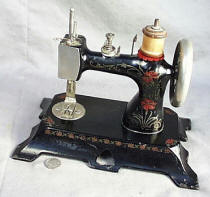 Bavarian Full Bodied Chain Drive Toy Sewing Machine