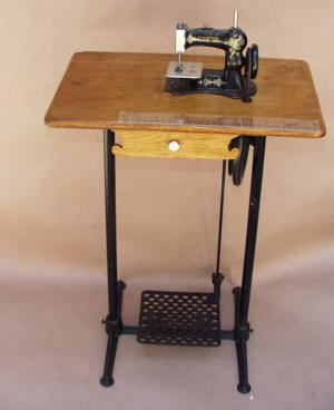 Cupid Toy Treadle Sewing Machine