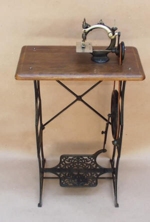 Ideal Child Size Toy Treadle Sewing Machine