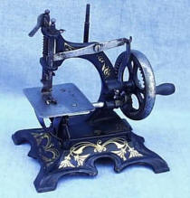 Muller  20 Cast Iron Small Antique Sewing Machine
