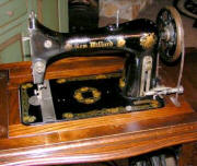 treadle sewing machine head