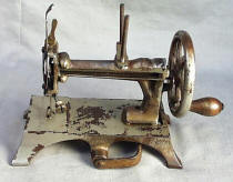 Antique French TSM Toy Sewing Machine