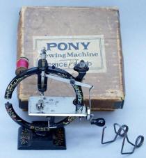 The  Pony Cast Iron Round Sewing Machine