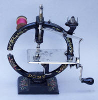 Antique PONY Toy / Travel Sewing Machine