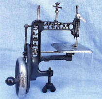 Antique PANSY Toy Sewing Machine