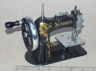 Senorita Patented Child Size Sewing Machine