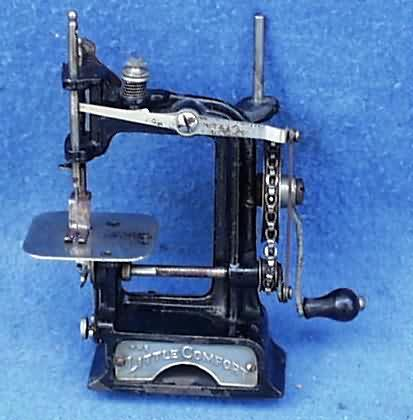 WwwAntiqBuyer Antique TSM Toy Sewing Machines Past Sales Archive Amazing Travel Size Sewing Machine