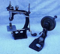 Spenser Sewing Machine with Auxiliary Crank