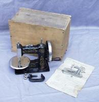 Stitchwell / National Sewing Machine Co. TSM / Toy Sewing Machine Marked Eldridge