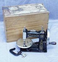 Stitchwell / National Sewing Machine Co. TSM / Toy Sewing Machine Marked Wanamaker