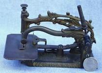 Patented Foliage Sewing Machine