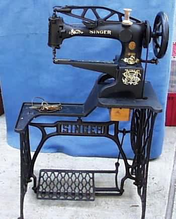 Meeker's WwwAntiqBuyer Antique Sewing Machines Past Sales Extraordinary Vintage Leather Sewing Machine