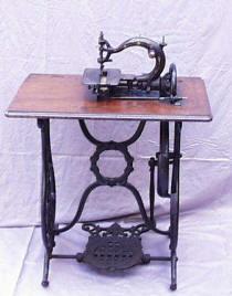 Patented Secor  Treadle Sewing Machine