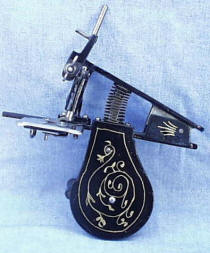 Patented Beckwith Clamp-On Sewing Machine