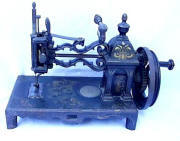 Shaw Patent Antique Sewing Machine