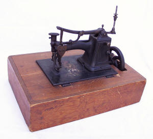 Herron Patent Sewing Machine