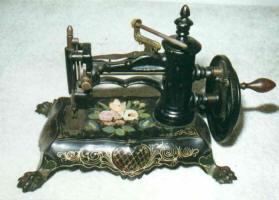 c. 1870 Antique Paw Foot Sewing Machine
