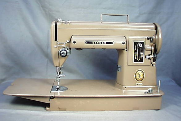 AntiqBuyer Singer Featherweight 40 40 Sewing Machine Past Cool Metal Singer Sewing Machine