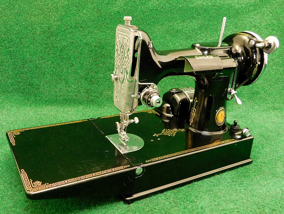 AntiqBuyer Singer Featherweight 40 40 Sewing Machine Past Best 1947 Singer Featherweight Sewing Machine