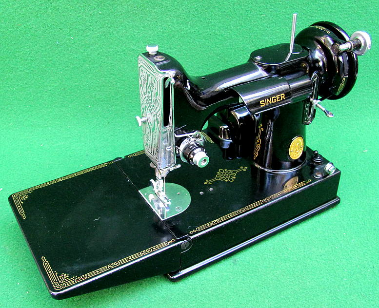 AntiqBuyer Singer Featherweight 40 40 Sewing Machine Past Delectable 1947 Singer Featherweight Sewing Machine