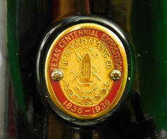 Texas Centennial Featherweight badge