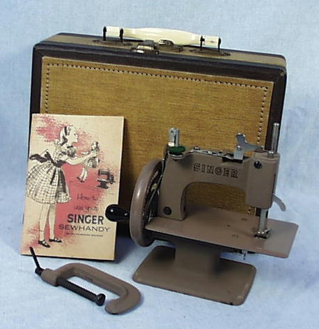Meeker's WwwAntiqBuyer Past Sales Archive Antique Singer Toy Interesting 1950 Singer Sewing Machine For Sale
